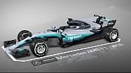 Monza: Setup, Mercedes