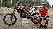 The new 2018 Honda CRF250RW