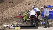 Tim Gajser crasht tijdens MXGP Assen