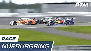 How to lose 2 places 1 fight - DTM Nürburgring 2017