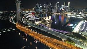 Серхіо Перес та Естебан Окон роблять прев'ю Гран Прі Сінгапуру