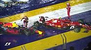 2017 Singapur GP -  Start ve Detaylı Tekrarı