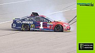 Jamie McMurray goes for spin shortly after final stage begins