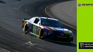 Eight-car wreck defining moment at New Hampshire, Kyle Busch escapes in 'close call'