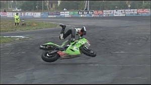 Аварія Анастасії Георгіца на фінальному етапі UASBK