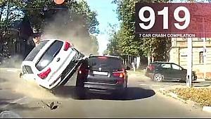 Recopilación de accidente de coche 919 - septiembre de 2017