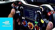 Das Formel-E-Lenkrad