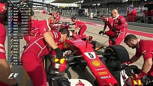 2017 Macaristan GP Sıralama - Vettel turbo sorunu yaşadı