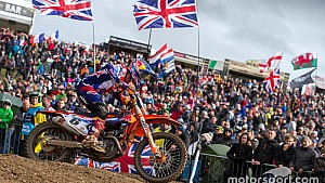 Accidente de Jeffrey Herlings - Motocross of Nations 2017