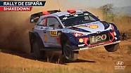Rally de España shakedown - Hyundai Motorsport 2017