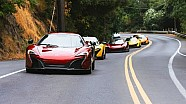 The McLaren Pebble Beach rally