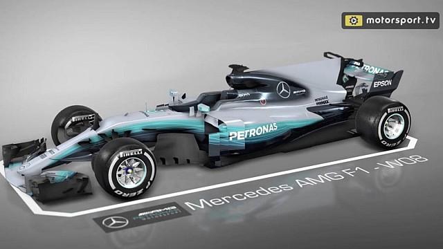 Formel 1 Video: Die Updates am Mercedes W08