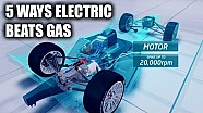 5 ways electric cars outperform gas powered cars