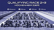 Qualifying for races 2+3 at Hockenheim
