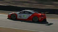 HPD Trackside - Pirelli World Challenge California 8 hours Acura NSX GT3 qualifying