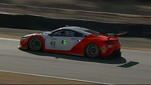 HPD Trackside - Pirelli World Challenge California 8 hours Acura NSX GT3 qualifying