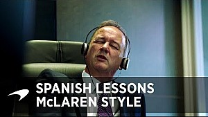 Clases de español, estilo McLaren