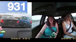 Recopilación de accidente de coche 931 - octubre de 2017