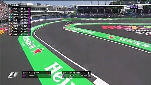 2017 Meksika GP - Heyecanlı geçen son dakikalar