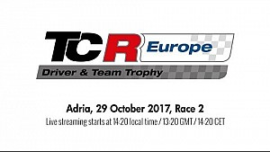 2017 Adria, TCR Europe Trophy race 2