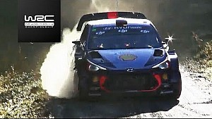 Hoogtepunten WRC Rally GB 2017