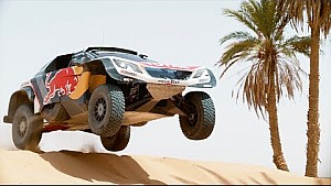 Peugeot teste la 3008DKR Maxi