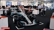 Seberapa besar mobil Formula 1 Mercedes?