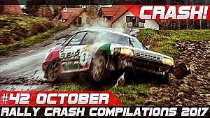 Racingfail! Rally crash compilation week 42 October 2017 (incl. WRC Wales rally GB)