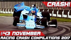 Racingfail  semana de recopilación de accidente 43 noviembre de 2017