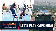 Capoeira en las nubes | Daniel Ricciardo y Max Verstappen en Brasil