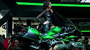 Official unveiling of the Kawasaki Ninja H2 SX at EICMA 2017