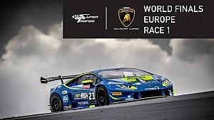 Мировой финал Супер Трофея Lamborghini. Этап 6 - Europe: первая гонка