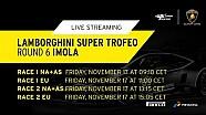 Lamborghini Super Trofeo Asia+North America 2017, Imola - Live streaming race 1