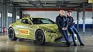 Pertemuan Max Verstappen dengan Aston Martin Vantage baru