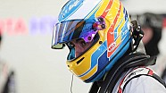 Fernando Alonso op de WEC Rookie Test
