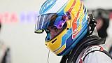 Fernando Alonso en el Rookie Test de WEC