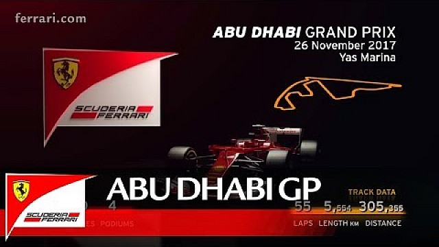 Abu Dhabi Grand Prix preview - Scuderia Ferrari 2017