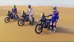 Presentación del equipo Yamalube Yamaha Rally Team para el Dakar 2018