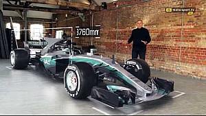 Giorgio Piola - 2017 Mercedes F1 aracı teknik analizi