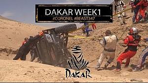 Así fue la primer semana del Dakar para Tim y Tom Coronel
