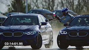 BMW M5 у восьмигодинному дріфті