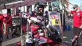 Honda en el Dakar, detrás de la escena