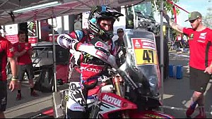 Behind the scene Honda Dakar rally 2018 vol.8