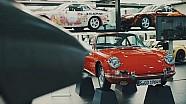 El taller del museo de Porsche