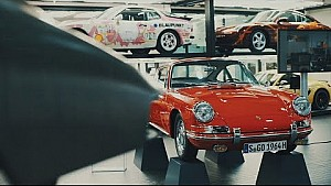 Insights into the Porsche museum workshop