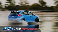 Ford Performance tests the Focus RS drift stick