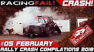 Rally Monte Carlo 2018 special rally crash compilation week 5 February