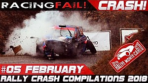 Rally Monte Carlo 2018 compilación especial de choque semana 5 de febrero