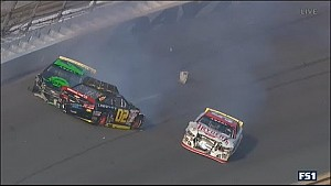 Three-car pileup - ARCA Daytona