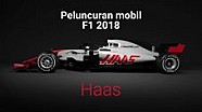 Peluncuran mobil F1 2018 - Haas